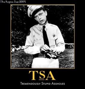 Creepy TSA